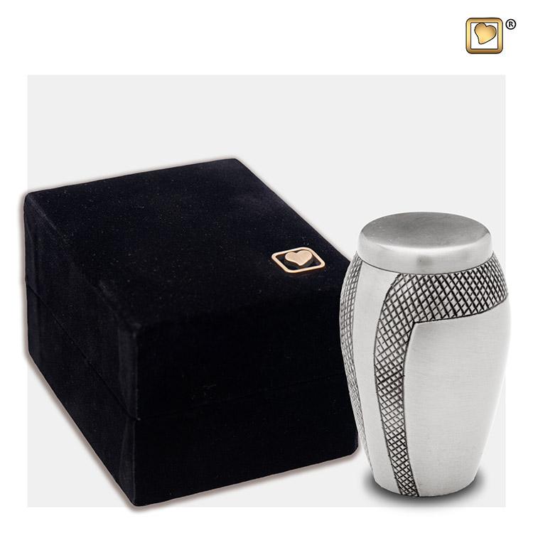 LoveUrns Mini Urn Modern Art (0.06 liter)