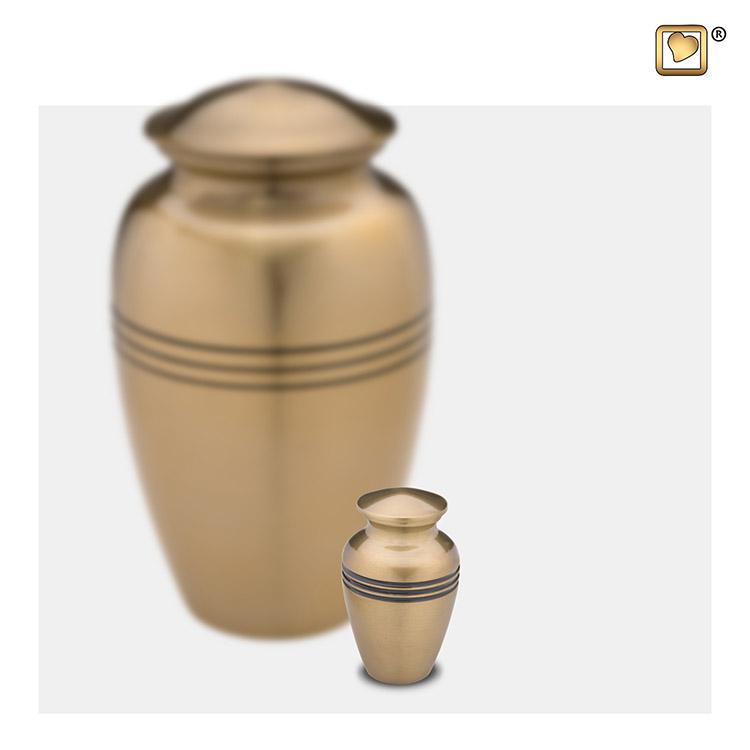 LoveUrns Radiance Miniurn Classic Gold (0.05 liter)