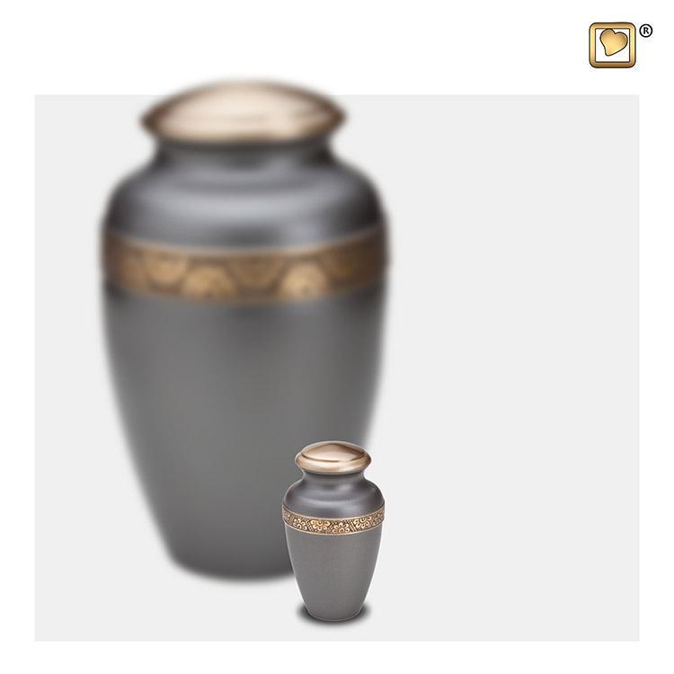 LoveUrns Mini Dierenurn Bloemenband (0.05 liter)
