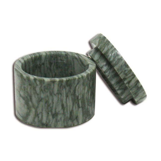 Marmeren Mini Urn Grijs Dooraderd (0.015 liter)