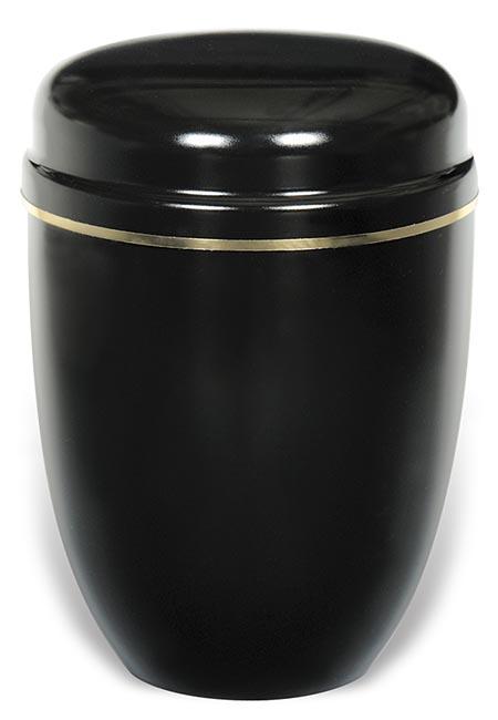Design Urn met gouden sierrand (4 liter)