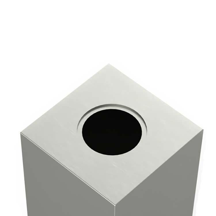 XXL RVS Druppel Urn (7 liter, geschikt als duo urn)