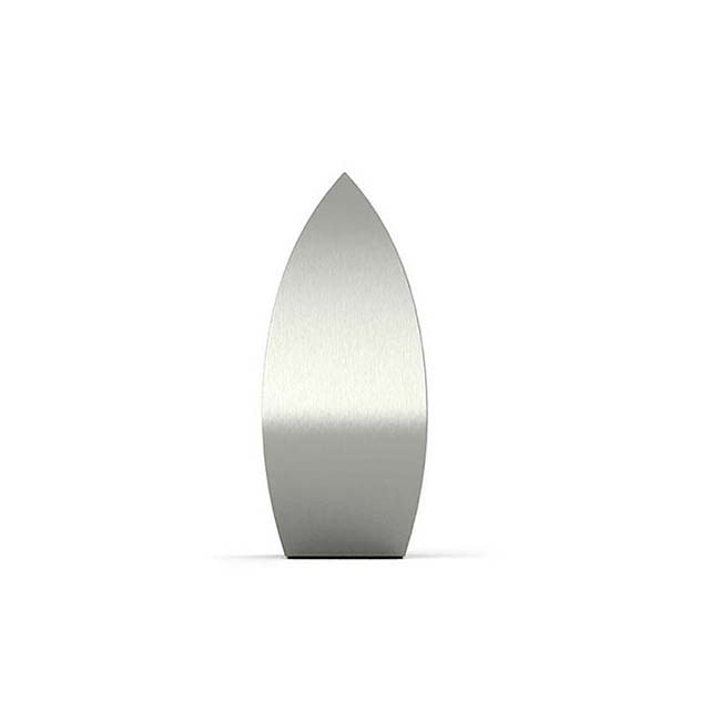 Kleine RVS Druppel Dieren Urn (0.6 liter)