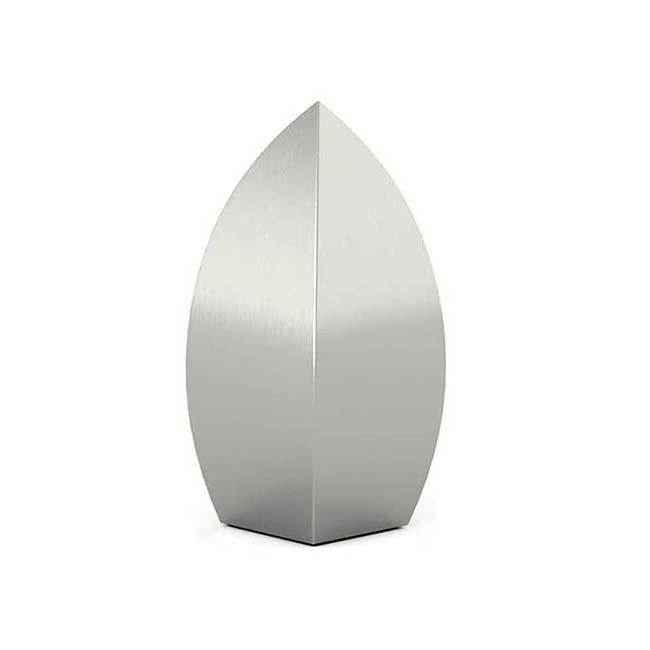 Kleine RVS Druppel Urn (0.6 liter)