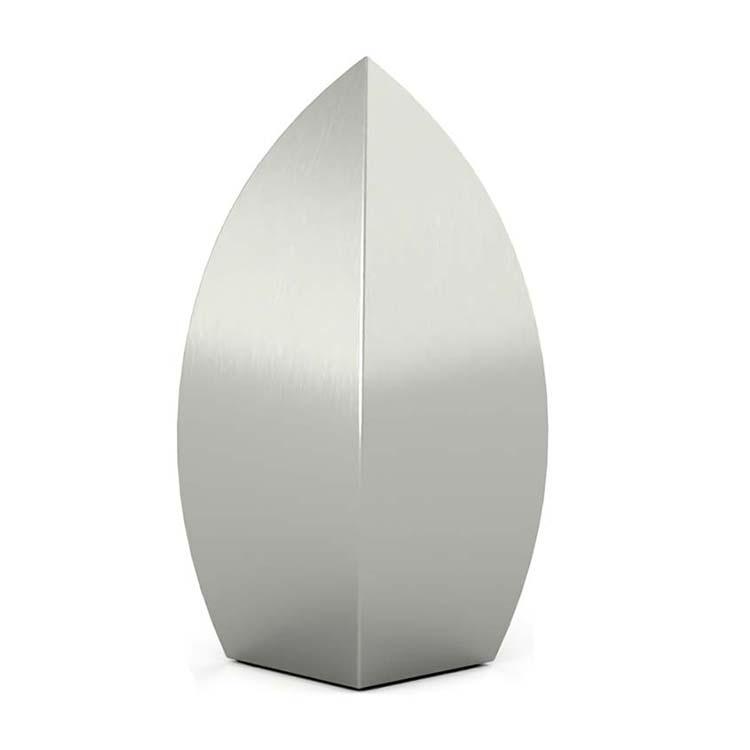 XL RVS Druppel Urn (3.5 liter)