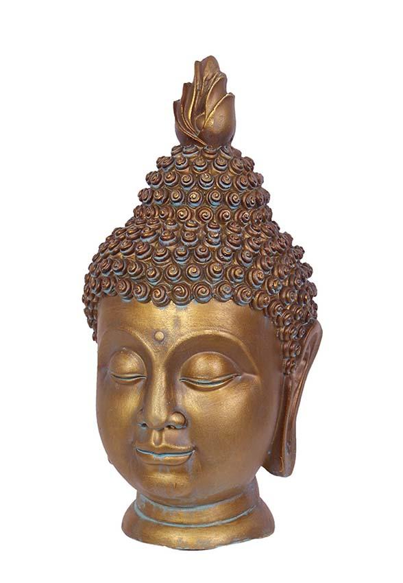 Middelgrote Thaise Boeddha Hoofd Urn (2 liter)