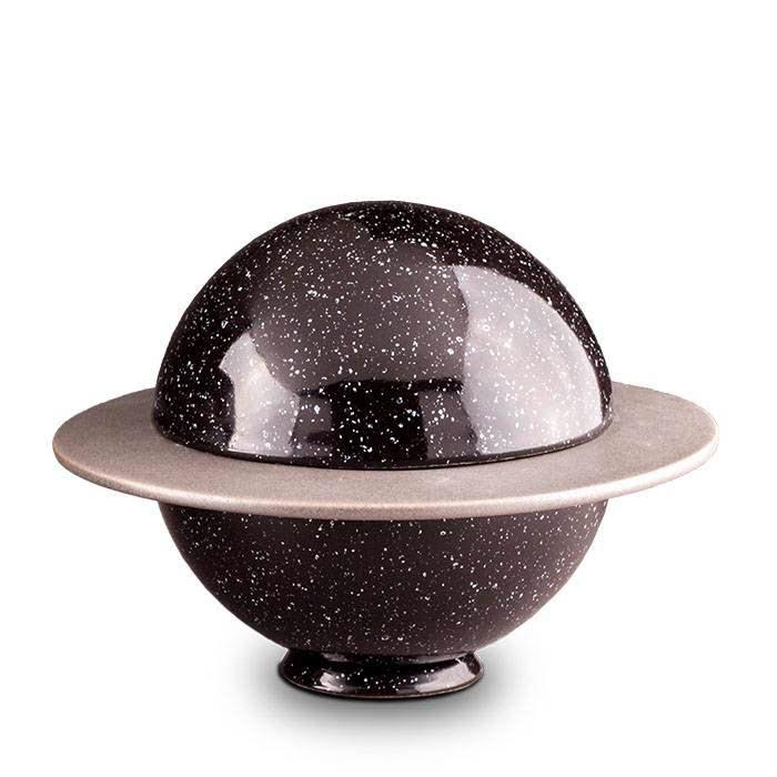 Middelgrote Keramische Saturnus Urn (1.6 liter)