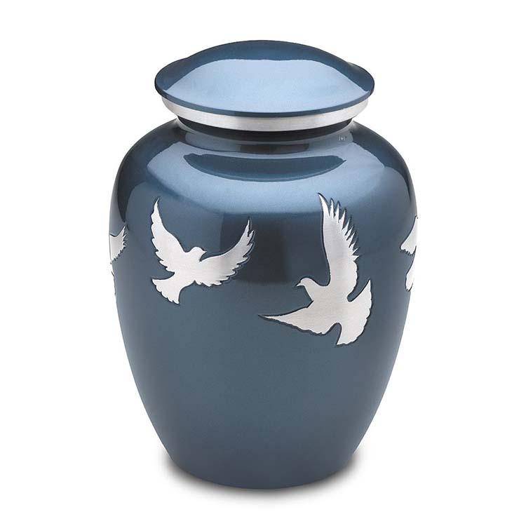 Grote LoveUrns Urn Devine Flying Doves (3.4 liter)
