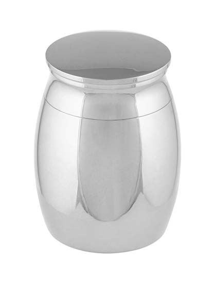 Micro Urntje Zilver (0.01 liter)