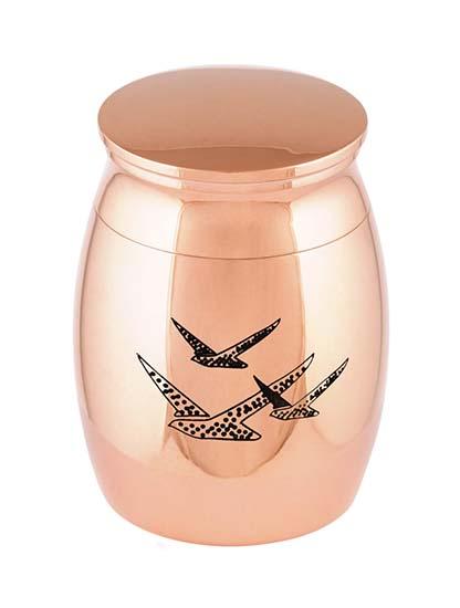Micro Urntje Rozegoud Vogels (0.01 liter)