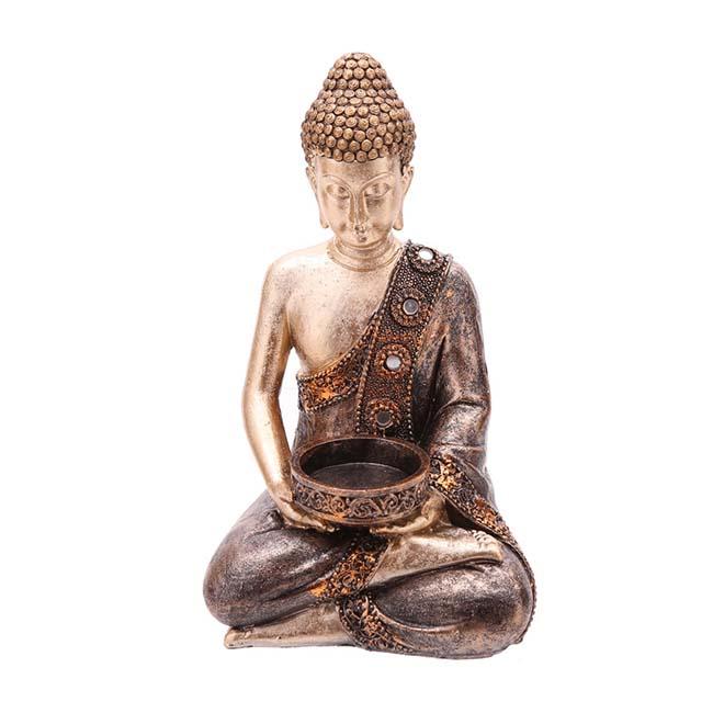 Amithaba Kaarshouder Boeddha Dierenurn (0.3 liter)