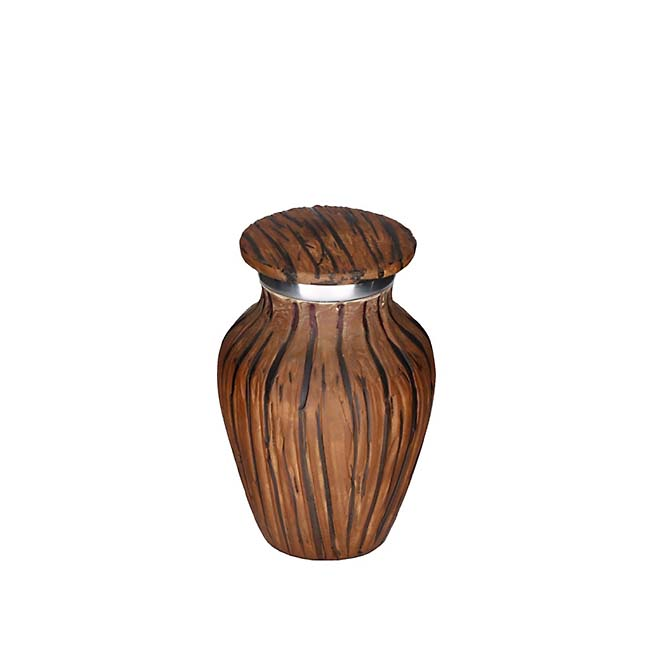 Elegance Mini Urn Dark Woodlook (0.1 liter)