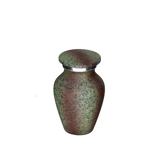 Elegance Mini Urn Metallic Look (0.1 liter)