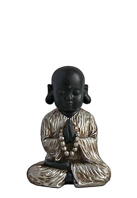 Kleine Buddha Urn Mediterende Shaolin Monnik (1 liter)