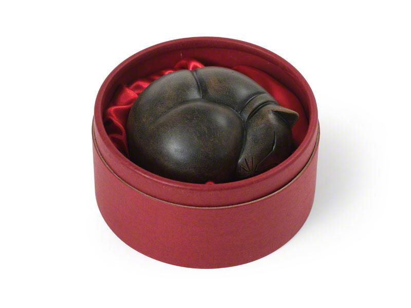 Mini Kattenurn of Asbeeld Slapende Kat (0.1 liter)