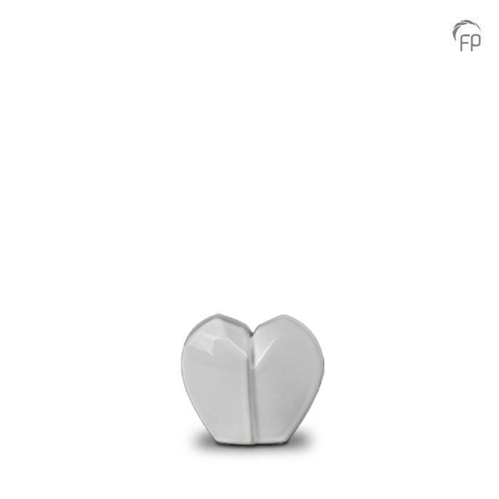 Mini Keramische Gebroken Hart Dierenurn (0.1 liter)