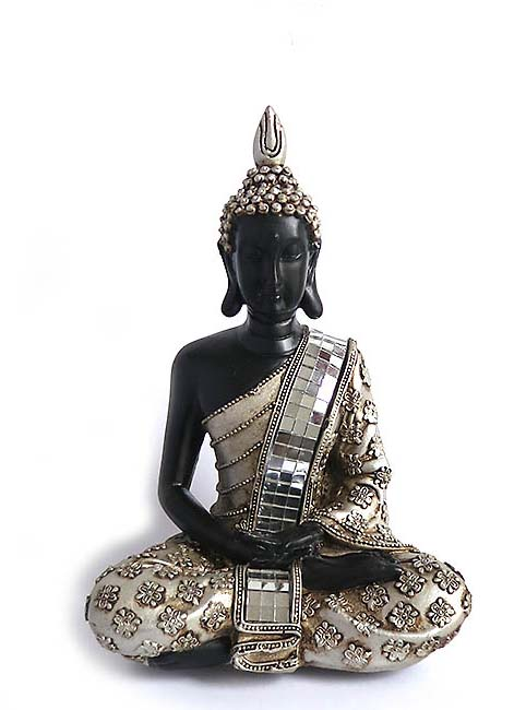 Thaise Meditatie Boeddha Dieren Urn  (0.3 liter)