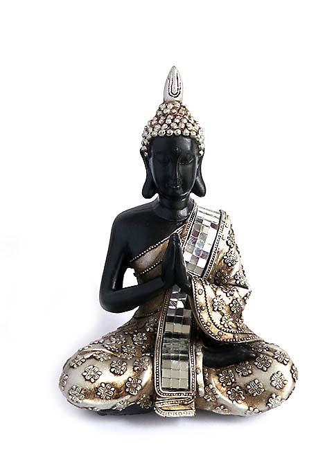 Thaise Meditatie Boeddha Urnen Voordeelset (0.6 liter)