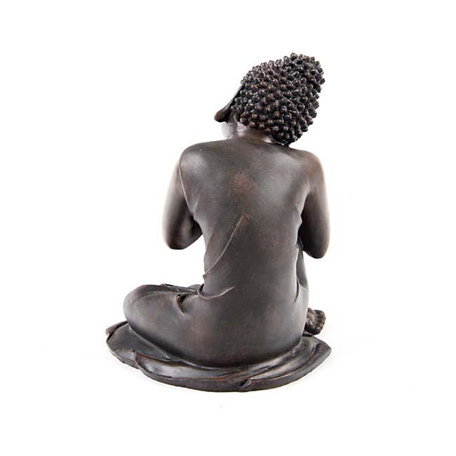 Kleine Urn Slapende Indische Buddha Brons Rechts (0.35 liter)