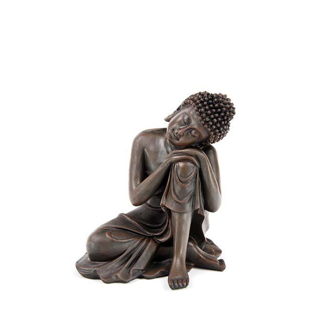 Mini Slapende Indische Buddha Urnen Voordeelset Brons (0.3 liter)
