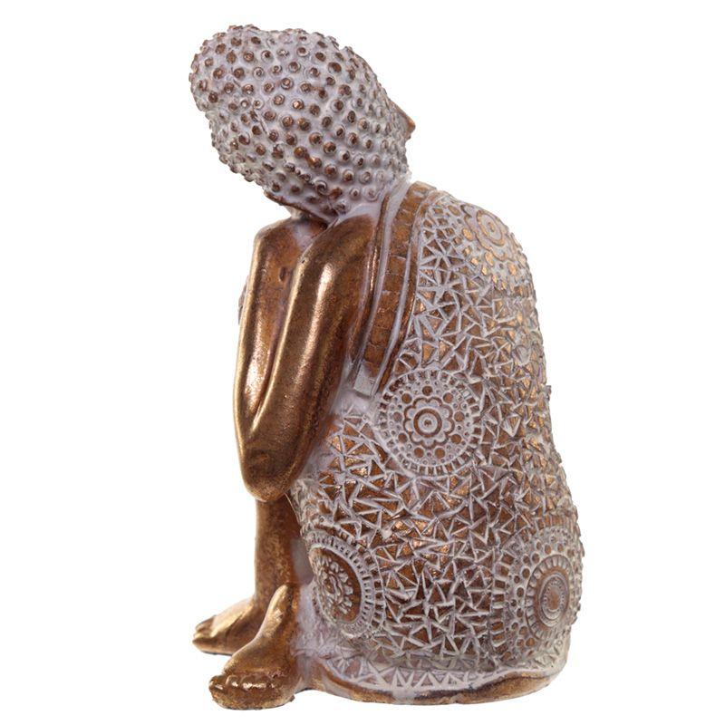 Slapende Indische Buddha Dierenurnen Voordeelset Oudgoud (1 liter)