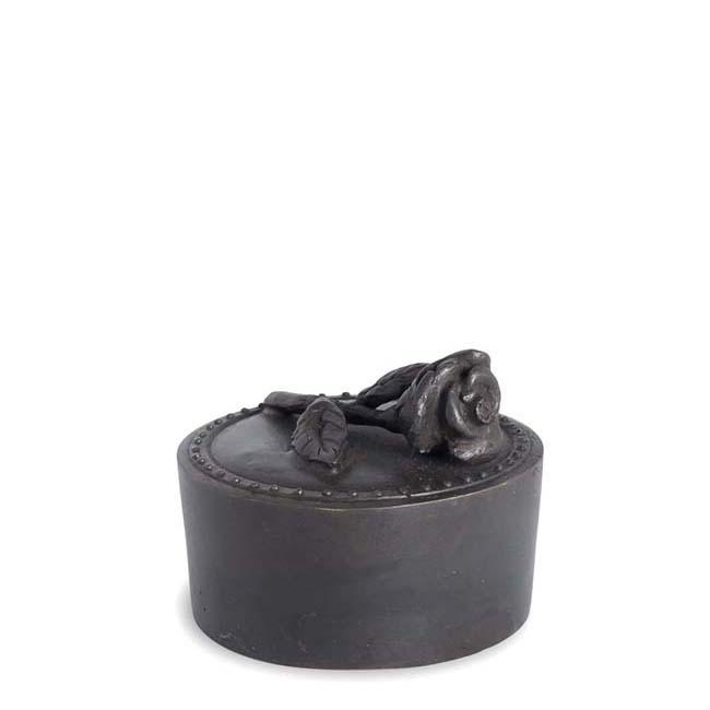 Bronzen Mini Urn Mijn Roosje (0.05 liter)