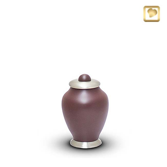 Messing Mini Simplicity Urn Cranberry (0.1 liter)