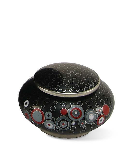 Opulence Onyx Cloisonne Mini Urn (0.08 liter)