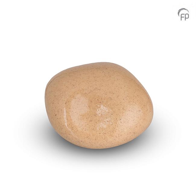Dieren Knuffelkeitje Mini Urn Zandkleur (0.05 liter)