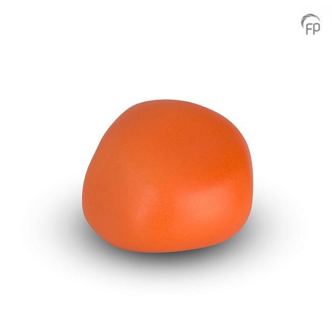 Dieren Knuffelkeitje Mini Urn Oranje (0.05 liter)