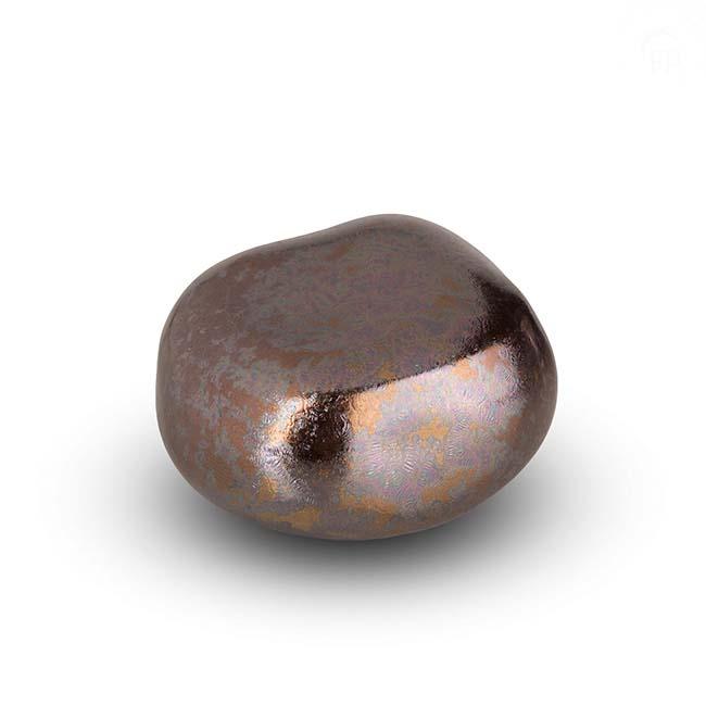 Dieren Knuffelkeitje Mini Urn Zilver (0.05 liter)