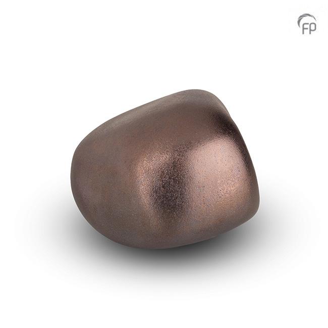 Dieren Knuffelkeitje Mini Urn Brons (0.05 liter)