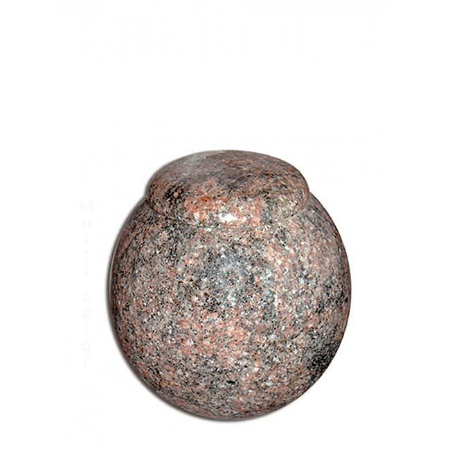 Granieten Miniurn Bol met Deksel - Marlin (0.1 liter)
