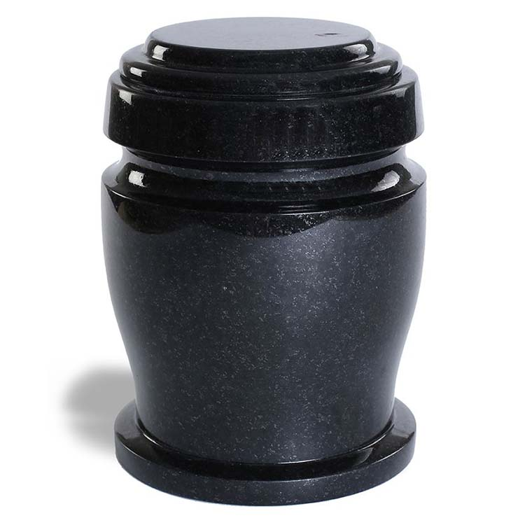 Robuste Granieten Pot-Urn Marlin (3.2 liter)