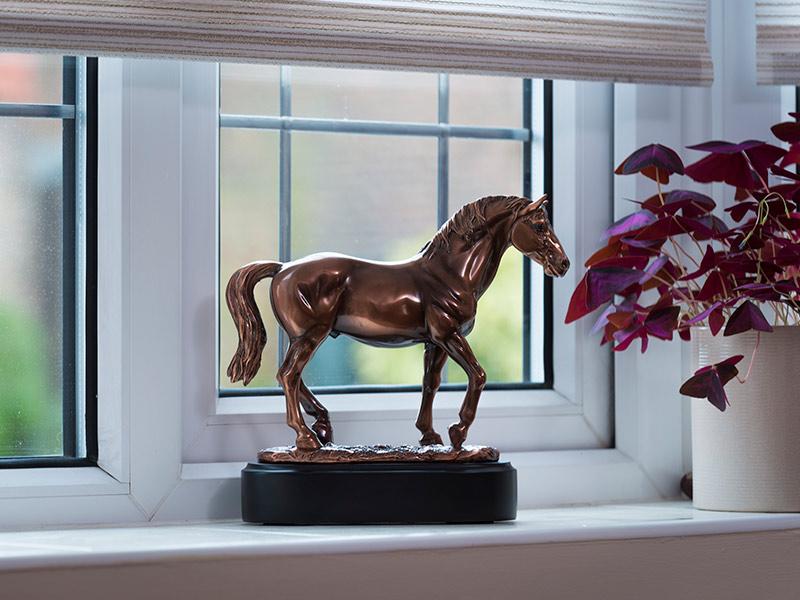 Paarden Urn of Asbeeld Champion (0.05 liter)