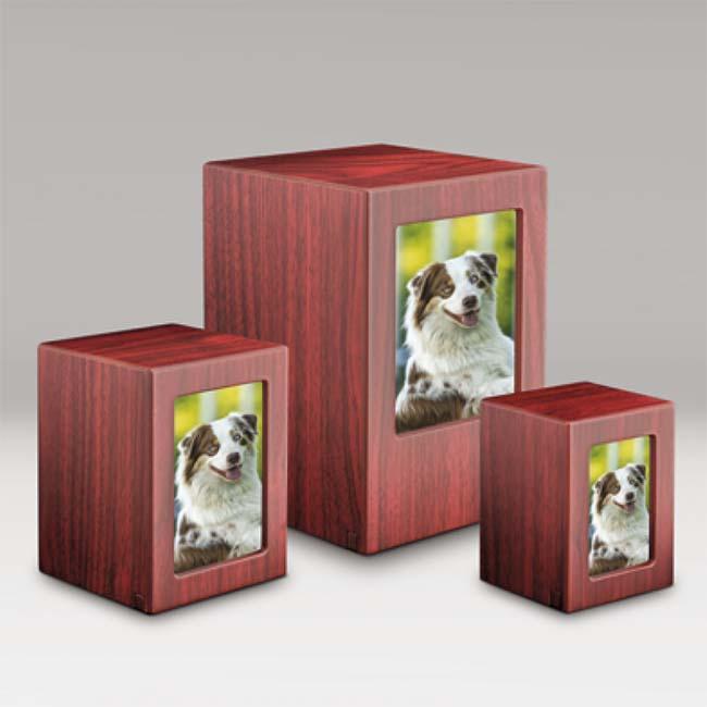 Photobox Dierenurnen Voordeelset Mahonie (5.3 liter)