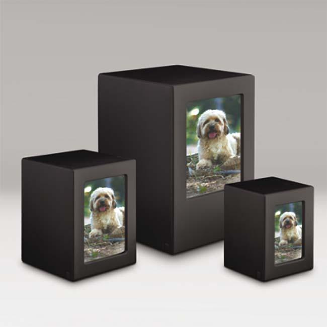 Photobox Dierenurnen Voordeelset Antraciet (5.3 liter)