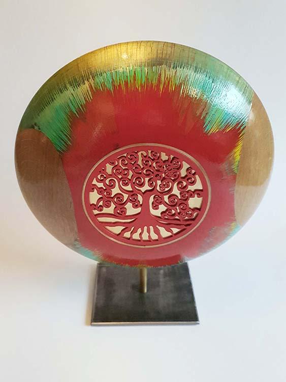 Grote Redflow Design Urn op Sokkel (ca. 3.5 liter)