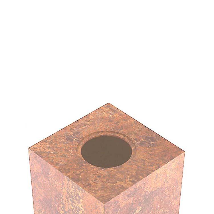 Extra Grote RVS Dieren Druppel Urn (3.5 liter)