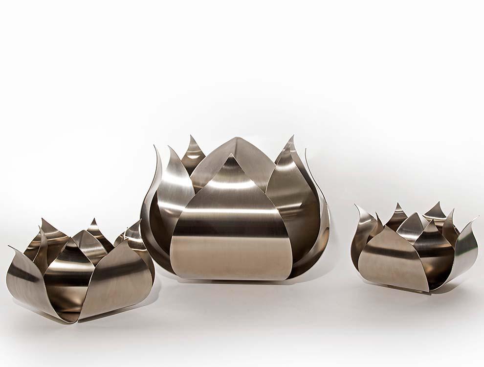 RVS Rozen Urnen Voordeelset (3.5 en 0.05 liter)