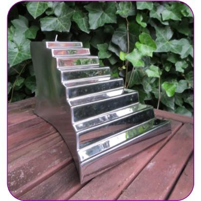 Kleine RVS Stairway To Heaven Urn (2.1 liter)