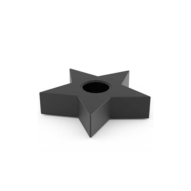 Mini RVS Ster Urn (0.2 liter)