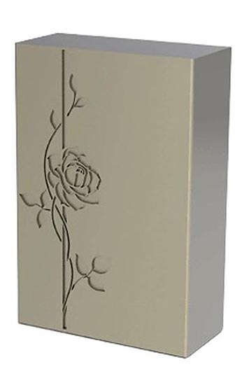 RVS Decor Urn Roos (3.5 liter)