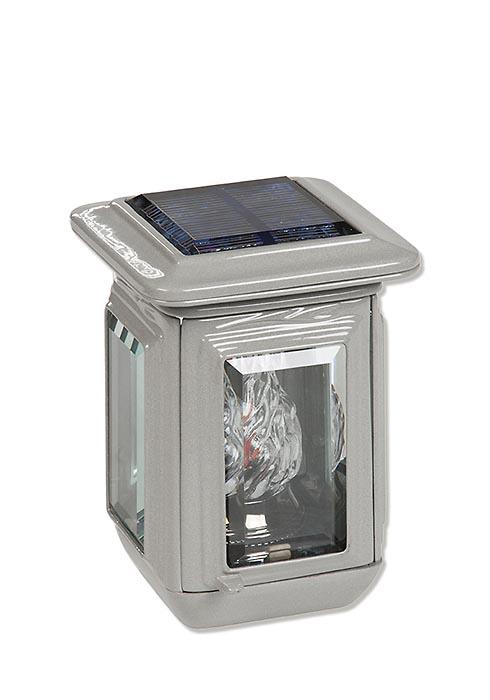 Kleine Aluminium Graflantaarn Zonne-energie
