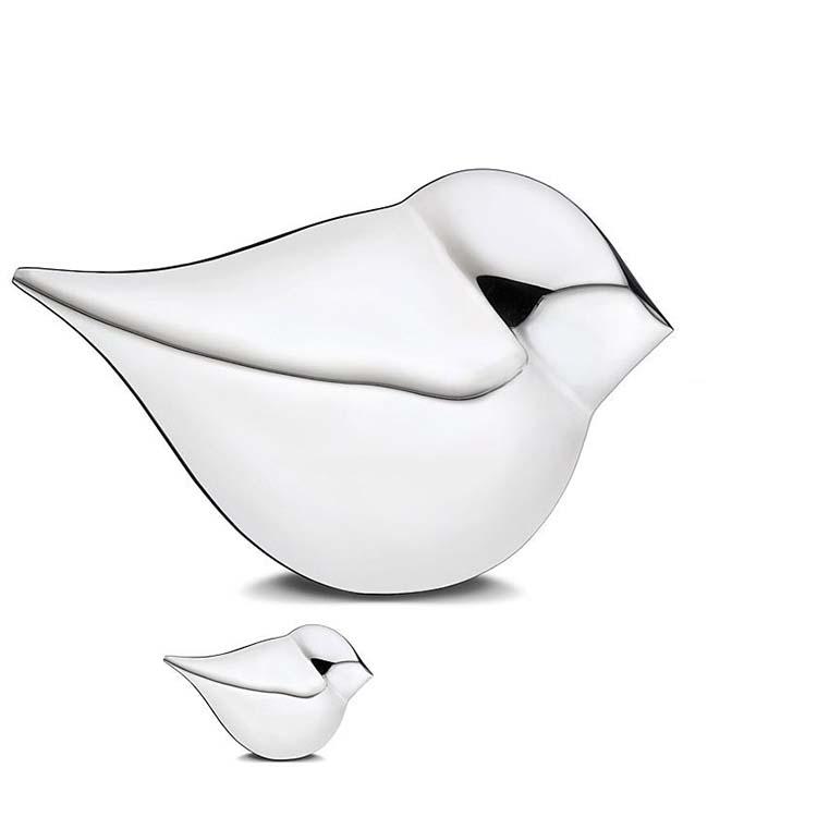 Zilveren Soulbird Dierenurnen Voordeelset (0.05 en 2.5 liter)