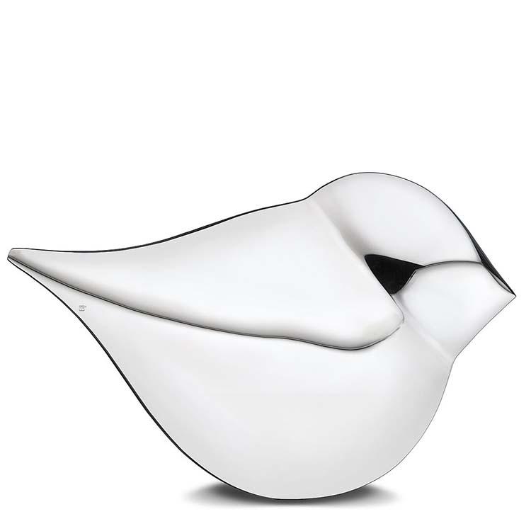 Grote Zilveren Soulbird Dierenurn - Vrouw (3.6 liter)