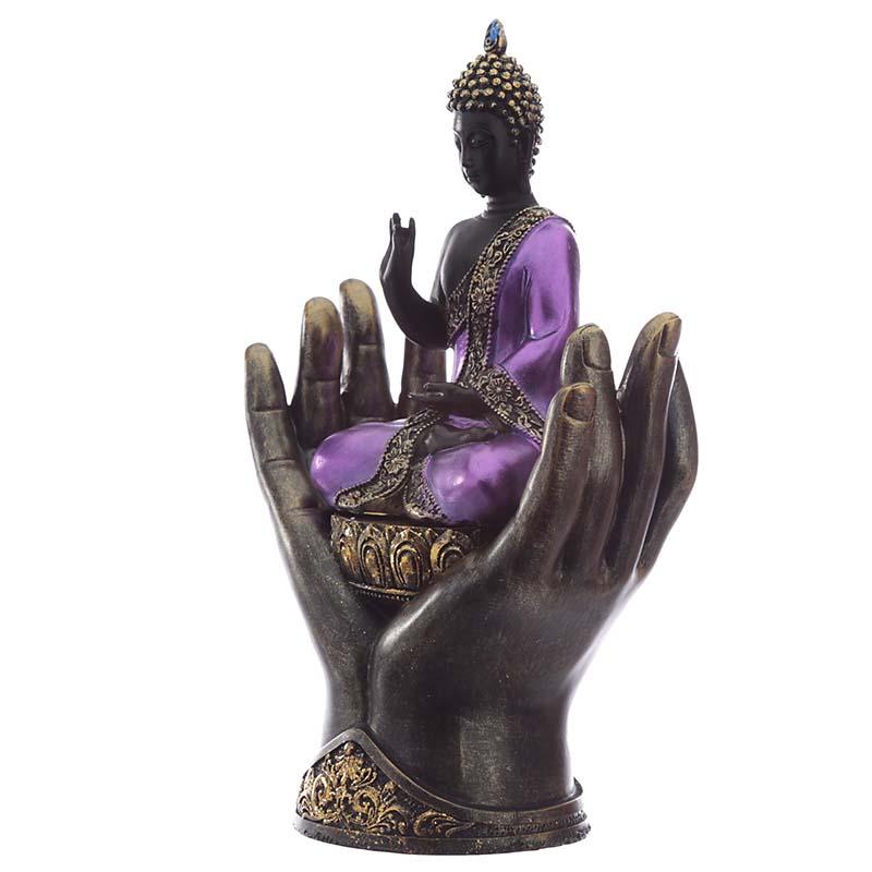 Thaise Boeddha Urn Op Handen Gedragen (0.5 liter)