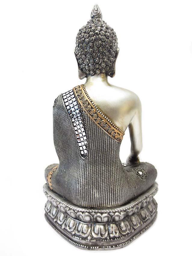 Thaise Meditatie Boeddha Dierenurn op Sokkel (1.2 liter)