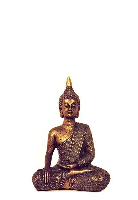 Thaise Meditatie Boeddha XS Mini Dierenurn (0.002 liter)