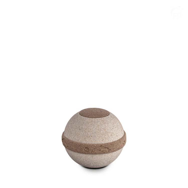 Kleine Biologisch Afbreekbare Cuarzo Life Spirit Urn (0.7 liter)